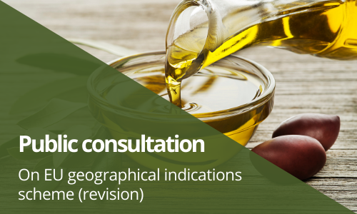 Public consultation now open: EU geographical indications scheme