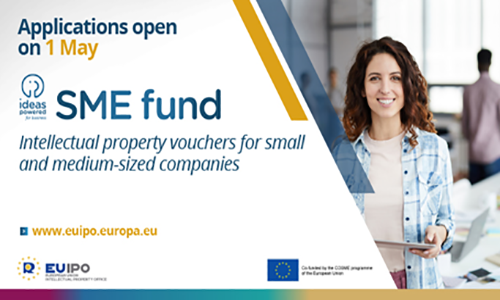 SME Fund: Save up to €1500 on your intellectual property costs