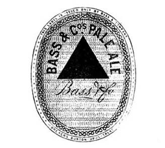 One of the first registered trade marks of Bass Pale Ale brewery