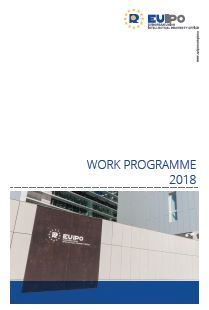Cover of 2018 work programme