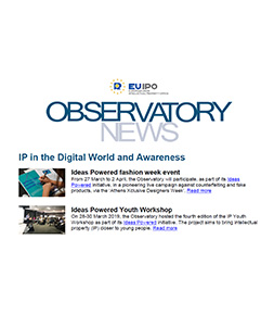 Cover of Observatory newsletter, March 2019 edition